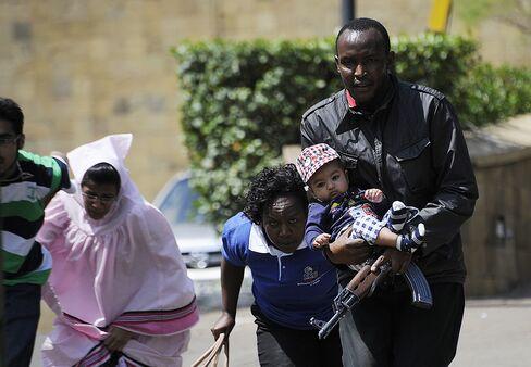 Kenyan Mall Attack by al-Qaeda-Linked Militants Leaves 39 Dead