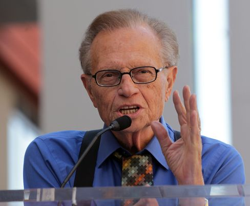 Larry King Hands CNN Mike to Morgan After 40,000 Interviews