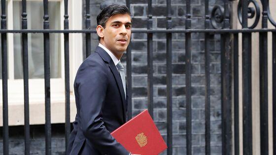 Sunak Gambles 30 Billion Pounds on Plan to Save U.K. Economy