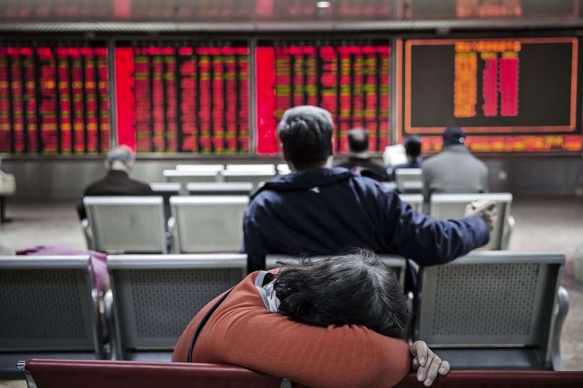 Chinese Stock Rally Triggers Short-Term Exhaustion Signal