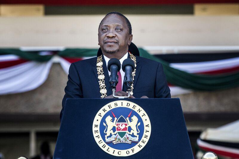 Kenyan President Uhuru Kenyatta Attends Jamhuri DayCelebrations