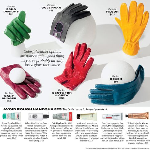 Hands On: Colorful Leather Gloves
