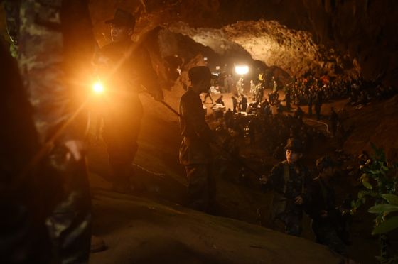 Netflix Is Making a Miniseries About the Thai Cave Rescue That Gripped the World