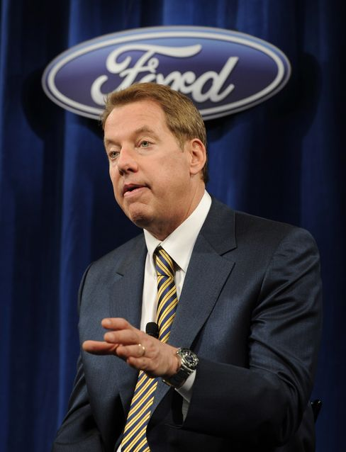 Ford Motor Co Executive Chairman Bill Ford