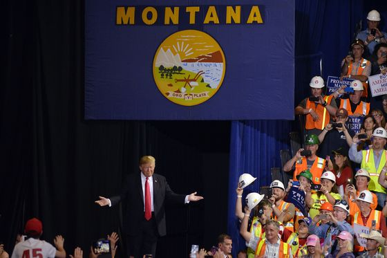 Trump Plays Outsize Role in Montana's Tightening Senate Race