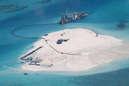 China Builds Artificial Islands in South China Sea