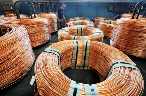 Copper Trade Most Bullish Since October on Stimulus