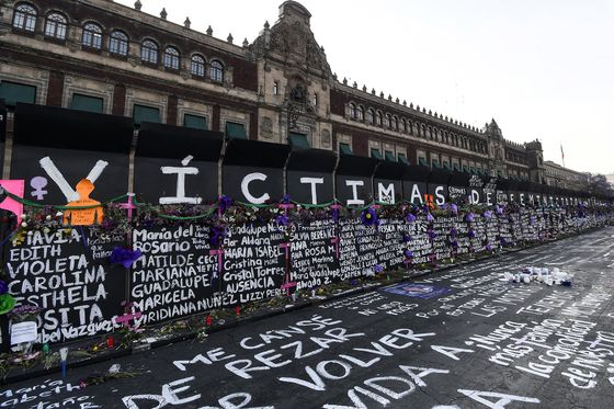 AMLO Defends Barricading Palace as Mexico's Women Protest Violence