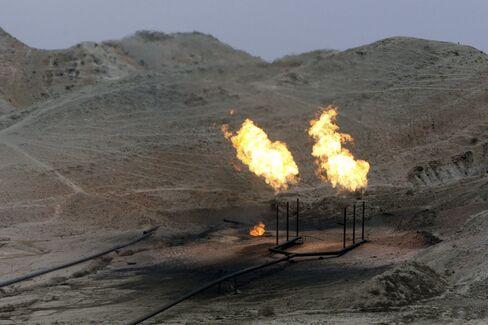 Iran oil fields