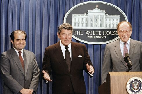 Reagan nominates Scalia in 1986