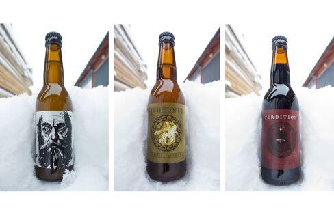 Tempel Brygghus bottles.