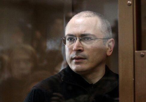 Former Oil Billionaire Mikhail Khodorkovsky
