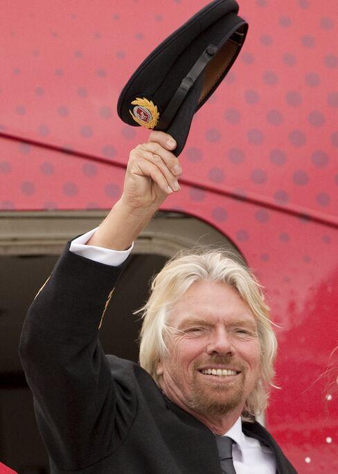 U.K. billionaire Richard Branson
