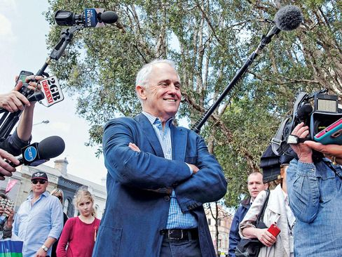 Turnbull, an advocate of digital innovation in an economy that's barely growing.