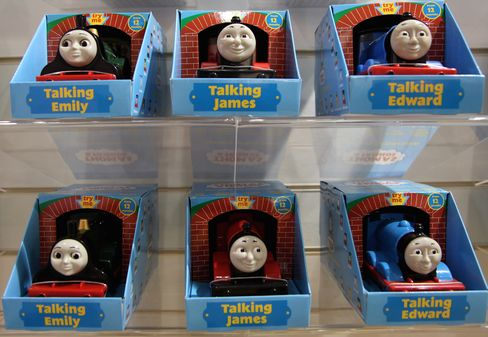 Tomy Agrees to Acquire RC2 to Add Thomas the Tank Engine Toy