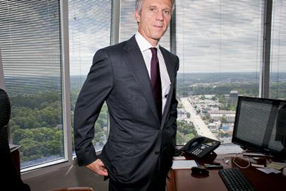 Cumulus Media CEO Dickey in his Atlanta office