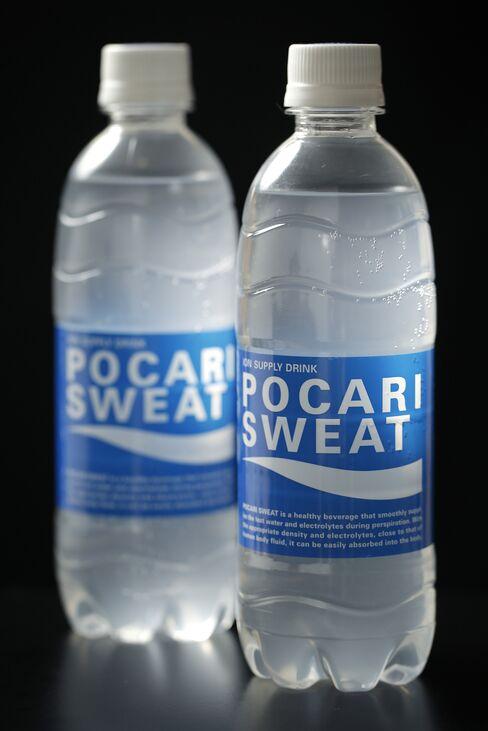 Otsuka's Pocari Sweat Drinks
