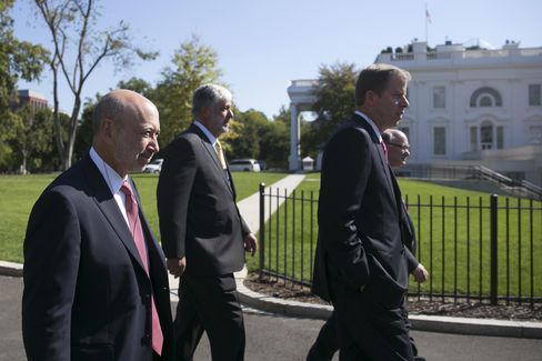 Finance Executives at the White House