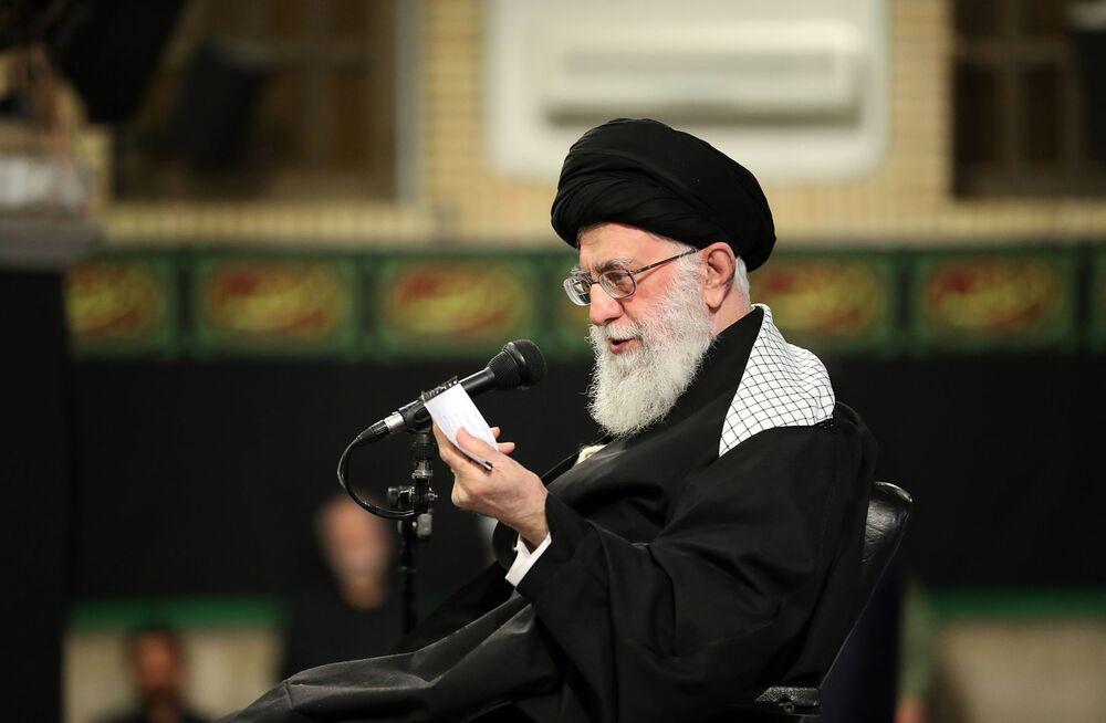 Khamenei Condemns 'Joke' European Effort to Salvage Nuclear Deal