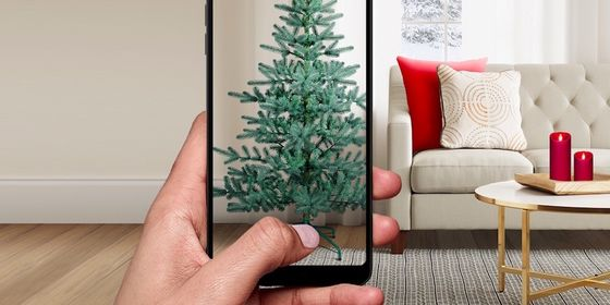 Target's Christmas Tree Sales Aided by Augmented-Reality Feature