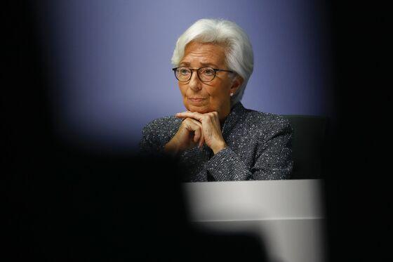Lagarde Sticks to Script After Prior Slip-Up on Euro Bond Yields