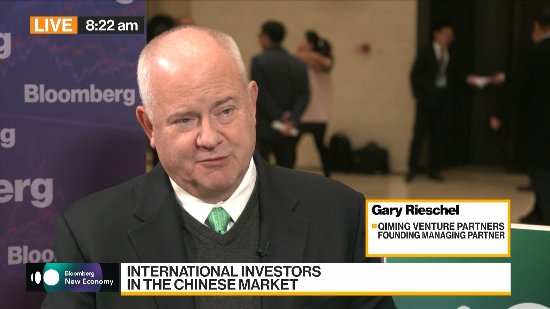 China Tech, AI, Cryptocurrencies Discussed by Gary Rieschel of Qiming Venture Partners