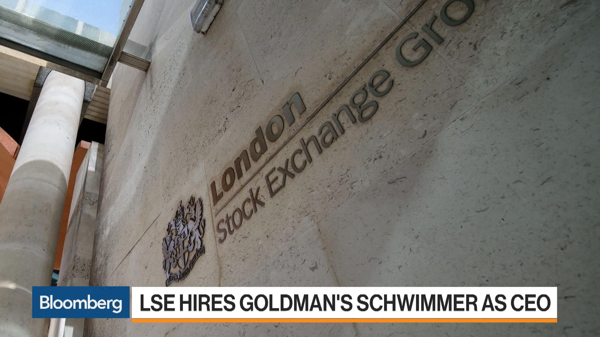 LSE Hires Goldman's Schwimmer as CEO, Ending Long Search
