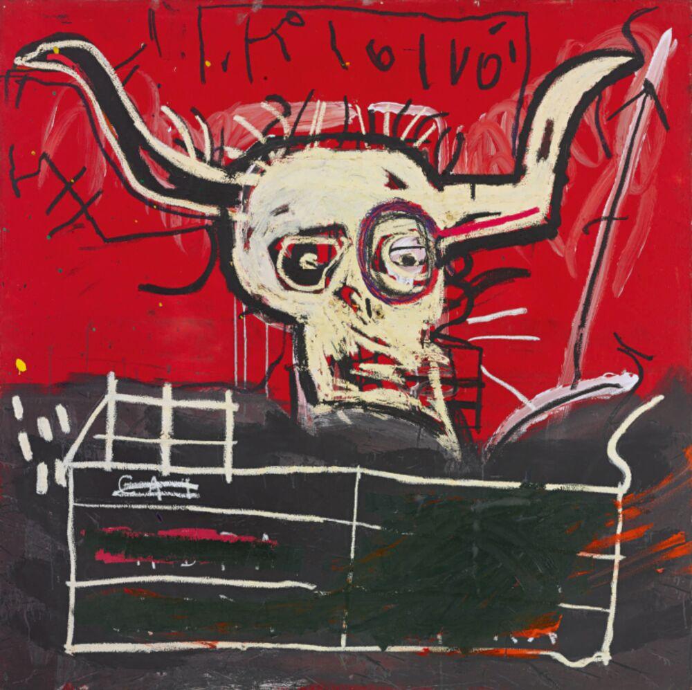 オノ・ヨーコさん所有のバスキア作品、13億円超で落札も-11月に競売