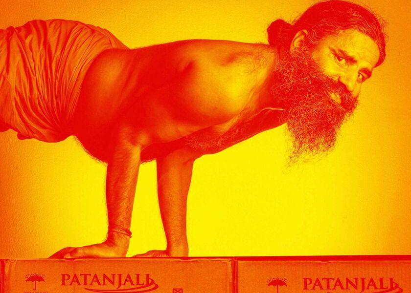 Znalezione obrazy dla zapytania ramdev india today cover