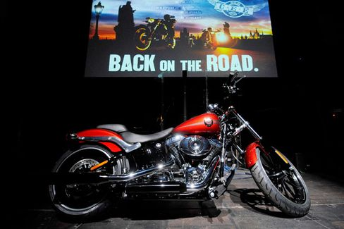With Beer Deal, Harley-Davidson Rides the High Life