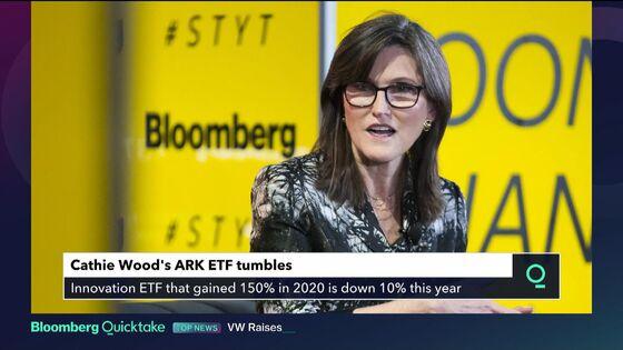 Ark Slammed Again as Riskiest Tech Bets Blow Past Lifelines