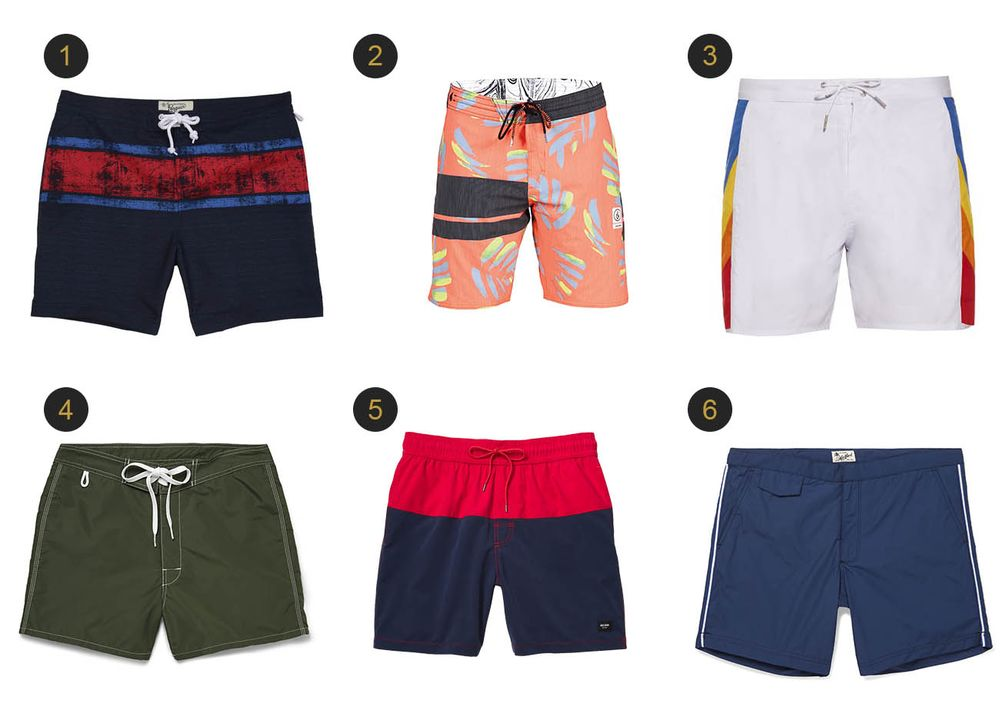 0ffc634e11 1467238513_swim-trunks-summer-bloomberg-sporty. (1) Earl swim volley, Original  Penguin ...