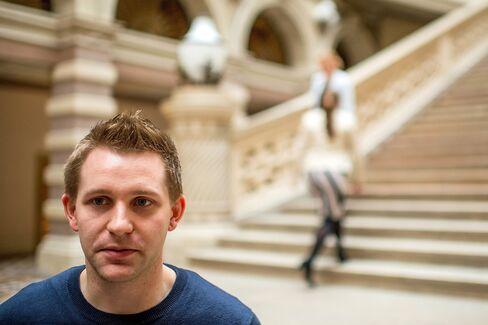 Austrian privacy activist Max Schrems