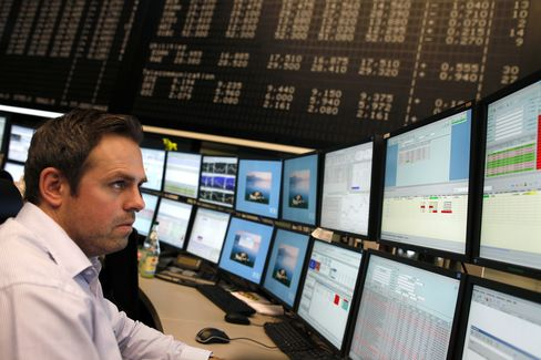 Europe Stocks, Euro Drop on Moody's Review