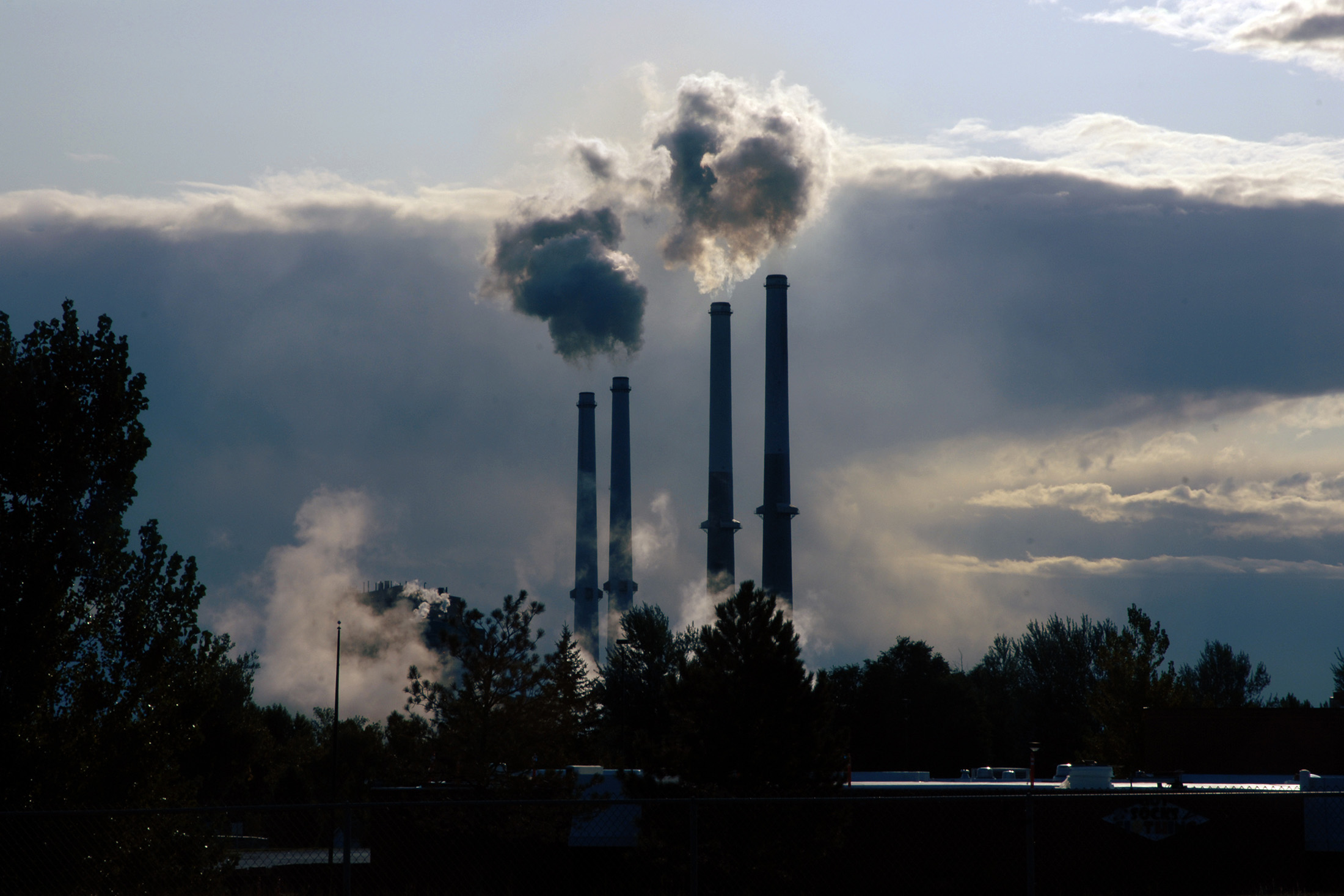 The Colstrip coal-fired power plant in eastern Montana, in 2008.