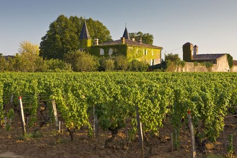 Chateau Coutet, Barsac region, Bordeaux, France.