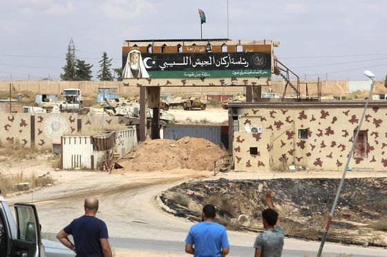 Libya Says Missile Find Shows France Is Backing Haftar Offensive