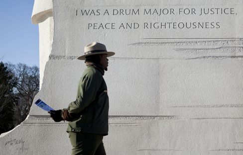 Obama Says Martin Luther King Memorial Quote Call to Service