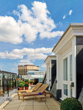 London Edition penthouse terrace