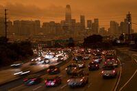 California Awakens To Smoky Skies From Raging Fires