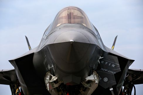 Pentagon Budget Cuts Spare Lockheed Martin (for Now)