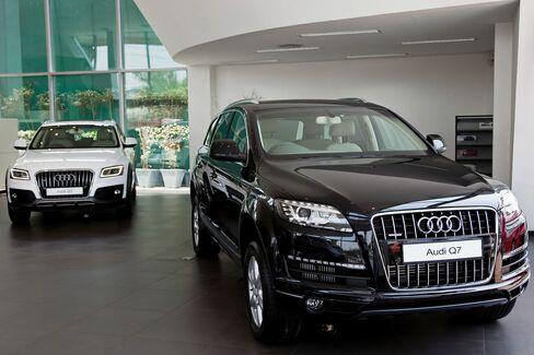 Audi Q5 and Q7 Sport Utility Vehicles