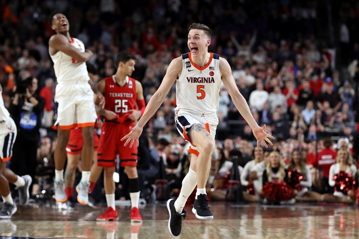 Virginia Beats Texas Tech in Overtime to Win Its First NCAA Championship