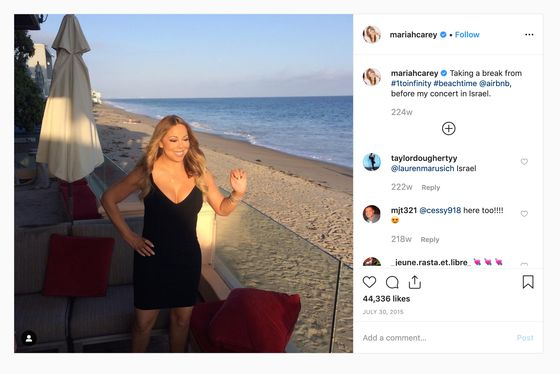 Beyoncé and Mariah Carey Helped Turn Airbnb Into a Luxury Brand