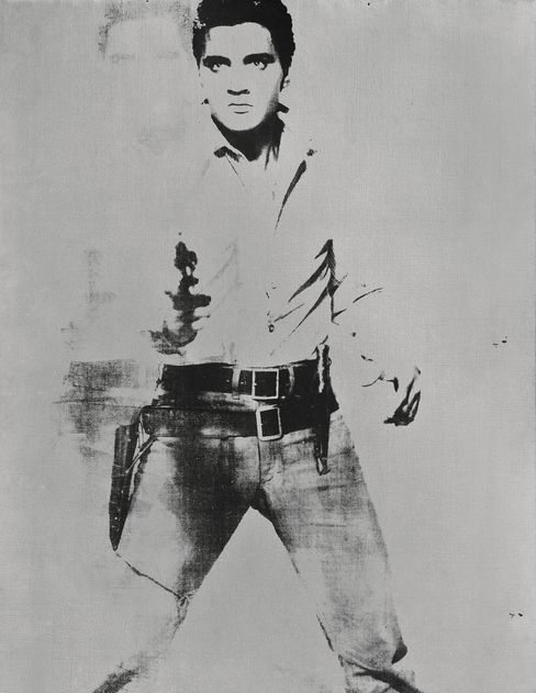 """""""Double Elvis"""" by Andy Warhol"""