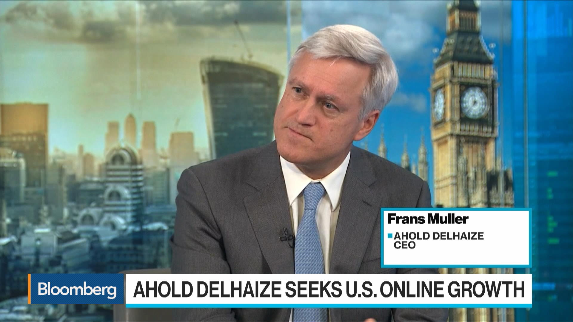 Ahold Delhaize CEO Frans Muller on E-Commerce, Grocery Consolidation