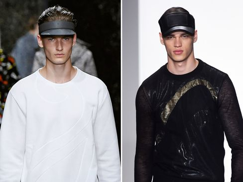 From left: Fendi Spring/Summer 2016; Calvin Klein Collection Spring/Summer 2016