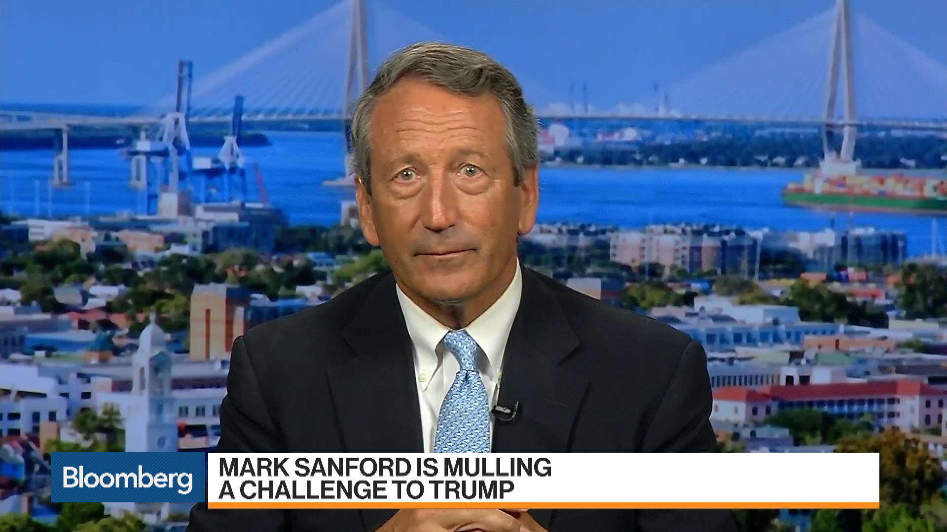Mark Sanford Mulls Challenge to Trump, Admits Winning in 2020 Is a Long Shot