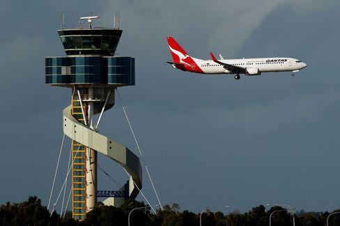 Qantas Airways Jet