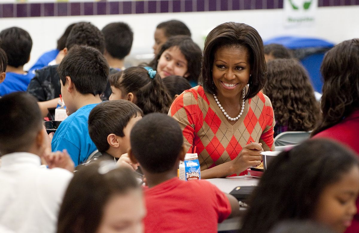 Trump Rolls Back Michelle Obama's School Lunch Nutrition Rules